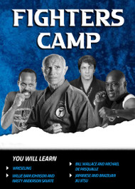 "Fighters Camp - De Pasqualle, Bill Wallace, Willie ""Bam"" Johnson"