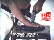 MAKIWARA Training by Soke Tak Kubota FREE Download TRT 8 minutes