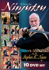NINJUTSU WEAPON SECRETS (Vol-1-10 Set SPECIAL) By An-shu STEPHEN K. HAYES