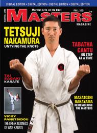 FALL 2021 MASTERS Magazine & FRAMES Video featuring Tetsuji Nakamura