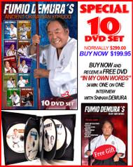 FUMIO DEMURA'S 10 DVD Special - Ancient Okinawan Kobudo