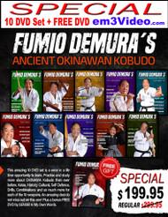 FUMIO DEMURA'S 10 DVD Special - Ancient Okinawan Kobudo (Option-B)
