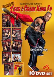 Hamby's Tiger & Crane Kung Fu - 10 Volume Set SPECIAL