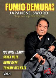 Samurai Sword BATTO-DO Series Vol-1 Seven Noto, Kome Kata & Toyama-Ryu Kata by Fumio Demura