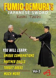 Samurai Sword BATTO-DO Series Vol-3 Kumi-Tachi, Targets & Terminologies