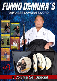 Samurai Sword BATTO-DO Series Vol-1-5 Volume SPECIAL by Fumio Demura-Option-A