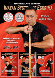 INAYAN SYSTEM OF ESKRIMA Vol-7-8-9 (3 Volume Set) - By Suro Jason Inay