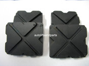 Rubber Lift Arm Pad for Western, Grand & Worth Lift Set of 4