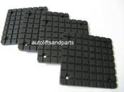 Rubber Arm Pad for BendPak Lift / Globe GV Series Lift Set of 4