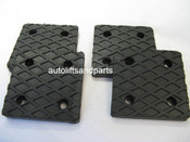 Rubber Lift Arm Pad for Benwil TP-9 & SP-45 Lift Set of 4  # 50509901