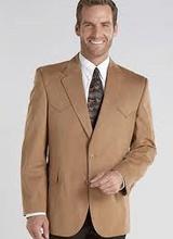 Circle S Buckskin Micro Suede Houston Style Sports Coat