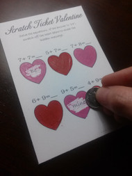 Valentine Scratch Tickets (Includes 2 Designs)