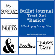 Journaling Text Set 1