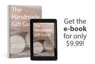 The Handmade Gift Guide EBook