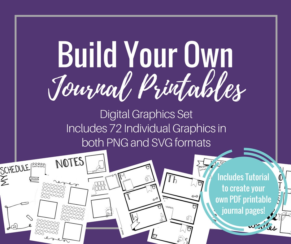 Build Your Own Journal Printables