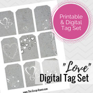 """Love"" Tag Set"