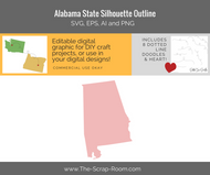 Alabama Digital Graphics Set
