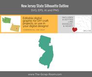 New Jersey Digital Graphics Set