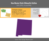 New Mexico Digital Graphics Set