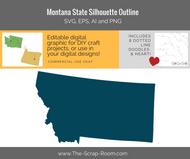 Montana State Digital Graphics Set