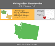 Washington State Digital Graphics Set