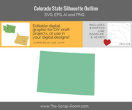 Colorado State Digital Graphics Set