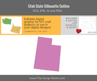 Utah State Digital Graphics Set