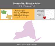 New York State Digital Graphics Set
