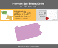 Pennsylvania State Digital Graphics Set