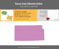 Kansas State Digital Graphics Set