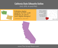 California State Digital Graphics Set
