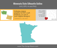 Minnesota State Digital Graphics Set