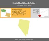 Nevada State Digital Graphics Set