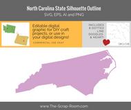 North Carolina State Digital Graphics Set