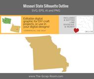 Missouri State Digital Graphics Set