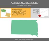 South Dakota State Digital Graphics Set