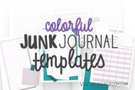 Planner Printables -Color Printable Planner Set in Purple and Teal - Daily, Weekly, Monthly layouts, Habit Trackers, Budgeting worksheets & more