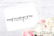 Printable Valentines - Printable Valentine Cards - Happy Valentine's Day Beautiful printable card