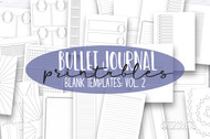 Planner Printables - The Templates Volume 2