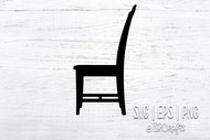 Chair Silhouette SVG / PNG