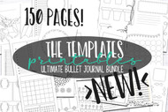 Printable Planner / Journal inserts- The Templates Mega Bundle