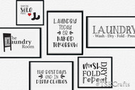 Laundry Room Graphic Design Bundle 2