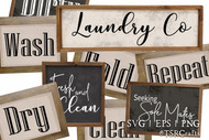 Laundry Room Graphic Design Bundle 1