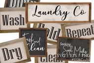 Laundry Room Graphic Design Bundle 1