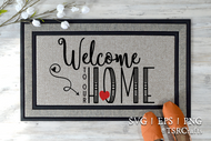 Welcome to our Home SVG, DXF, Clipart & Cut File Set
