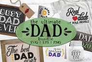 Dad Svg Bundle - The Ultimate DAD design bundle for creating gifts for him - svg files - png clip art - Dad Bundle - for handmade dad gifts
