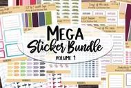 Printable Reminder Sticker MEGA BUNDLE - 2000+ individual stickers!