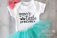 Daddy's little Princess Digital Design