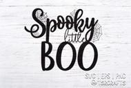 Halloween SVG - Spooky little Boo