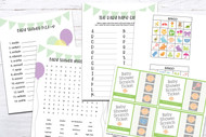 Baby Shower Ultimate Printable Game Bundle